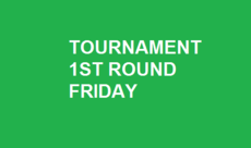 TOURNAMENT 2ND ROUND