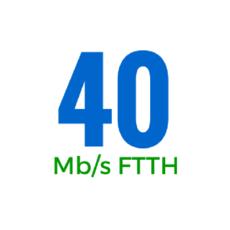 40Mbps (OSFTTHB40250GB)