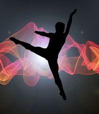 Han dansade balett.