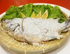 小江正宗水庫活魚餐廳─鹽烤台灣鯛