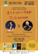"Peluncuran Novel Kelima Okky Madasari ""Kerumunan Terakhir"""