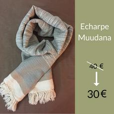 Echarpe Muudana : 30 €