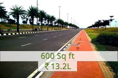 600 sq.ft Rs.13.2L