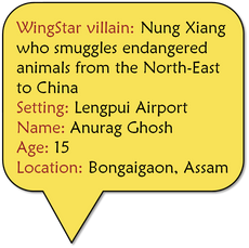Animal smuggler Nung Xiang
