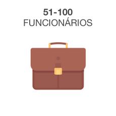 51-100 Funcionários