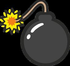 En bomb exploderade.