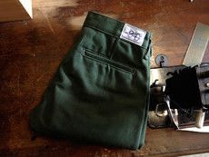 $90USD 18oz OLIVE DUCK CANVAS