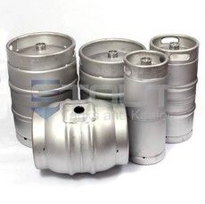 Kegs (we offer 1/6 bbl slim, 1/4 bbl, 50L and firkins)