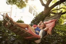 Active, but wouldn't turn down a hammock