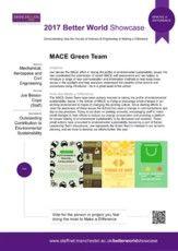 MACE Green Team - Environmental Sustainability