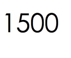 1500 stuks. €225,- ex btw.
