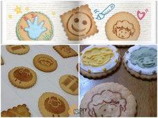 彩繪糖霜餅乾DIY材料包(彩繪餅乾)(糖霜餅乾)-拓印版