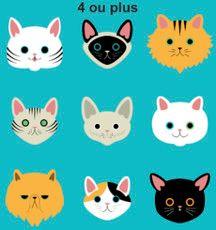 4 chats ou plus
