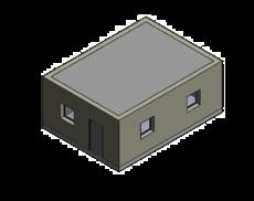 Bâtiment orthogonal régulier
