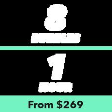 8 Bubbles for 1 Hour