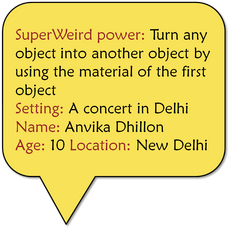 Convert object into another using source material + Delhi concert