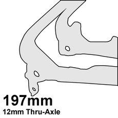 197mm Thru Axle