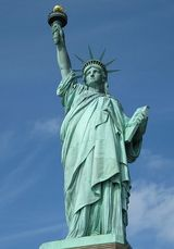 Statyn Frihetsgudinnan