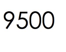 9.500 stuks. €1425,- ex btw.