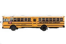 Jumbo Yellow School Bus (54 Adults/84 Kids)