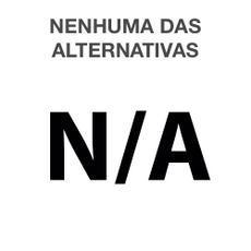 Nenhuma das Alternativas