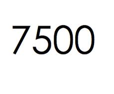 7.500 stuks. €1125,- ex btw.