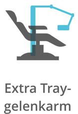 Extra Tray-Gelenkarm