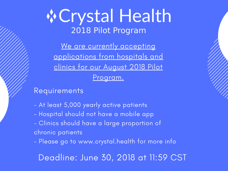 Crystal Health - 2018 Pilot Program