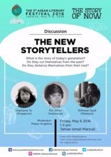 "Discussion ""The New Storytellers"""