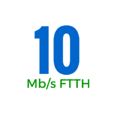 10Mbps (OSFTTHB10150GB)