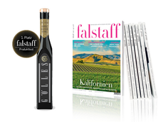 FALSTAFF KENNENLERNEN 2 Ausgaben + Gölles Apfelbalsam Essig um € 9,90