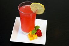 Strawberry Mint Mango Lemonade