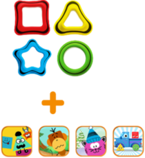 Tiggly Shapes Single Set: $29.95