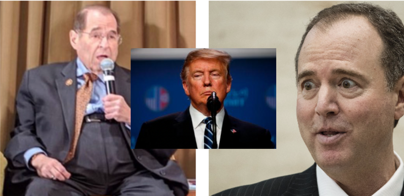 NATIONAL POLL:   Should Nadler and Schiff Be Investigated For Attempting a Coup Against President Trump?