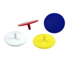 Plastic ball marks