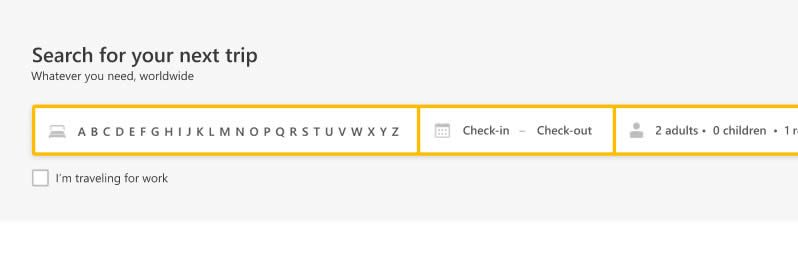 Picture for question IDEA 4: Alphabetical Auto-Completion - How will it impact the number of bookings?