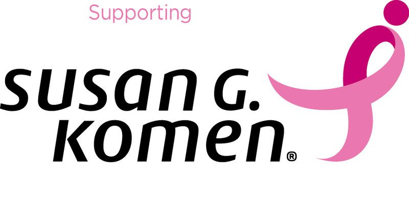 Susan g komen breast cancer products