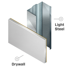 Drywall With Metal Studs