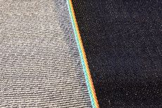 $138USD 13oz JPN Indigo Selvage Denim with Rainbow Selvage ID