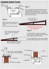 How to timber & clad a gable end
