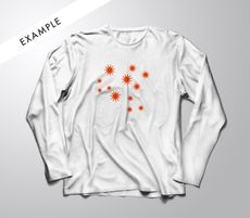 White longsleeve | Spot Sub: $45