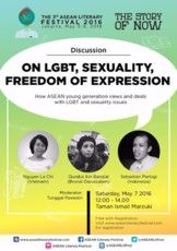 "Discussion ""On LGBT, Sexuality, Freedom of Expresion"""