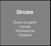 Sincere