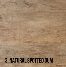 3. Natural Spotted Gum