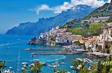 AMALFI COAST AND SICILY