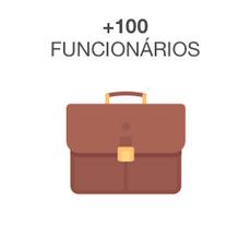 +100 Funcionários