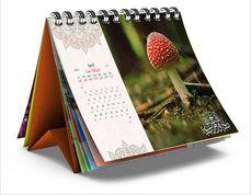 Table spiral calendar