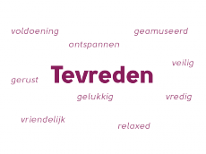 """Picture for choice """"Tevreden"""""""