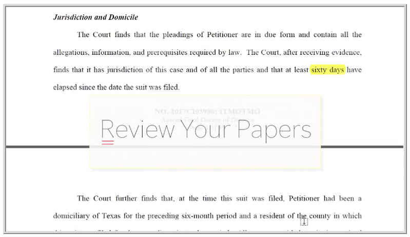 Divorce options guide cook cook law firm pllc step 3 of your uncontested divorce receive your divorce papers from your lawyer in email and go over them with your lawyer on the telephone solutioingenieria Images