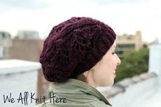Slouchy Lace Hat